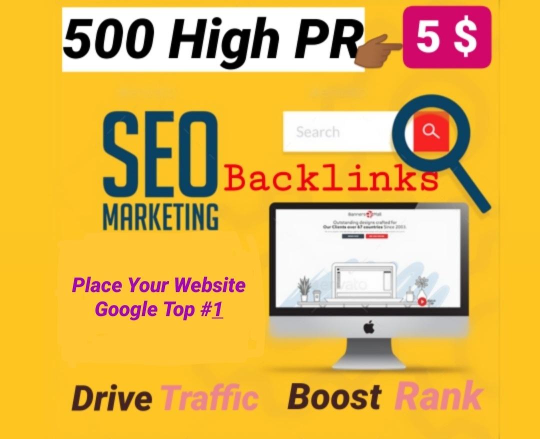 I will create 500 DO-follow High quality backlinks