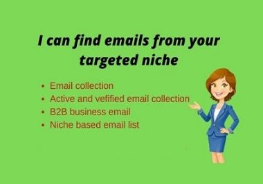 I will collect your target email list