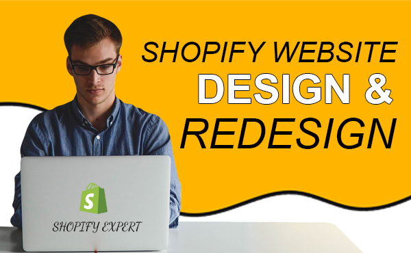 I will design SEO friendly Shopify store for you