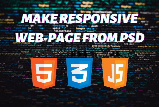 Make Responsive Website from PSD