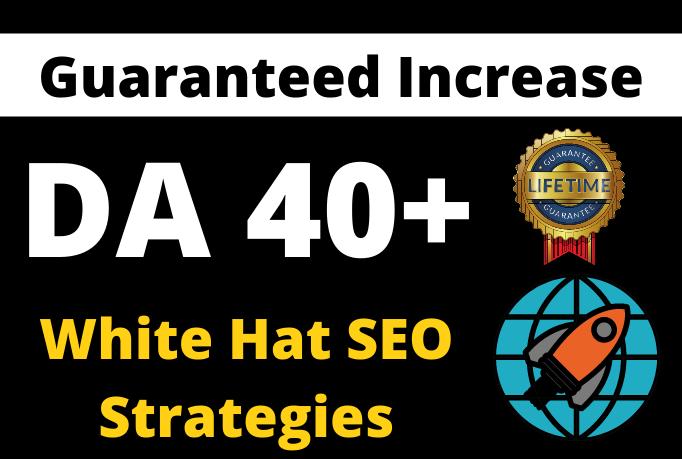 I will increase domain authority moz DA upto 40
