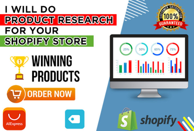 I will do winning product research for shopify or woocommerce dropshipping store within 24 hours