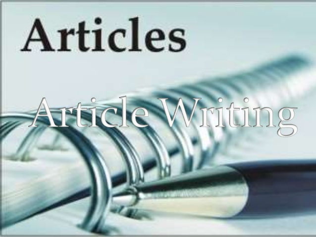 I will write articles that attract and engage