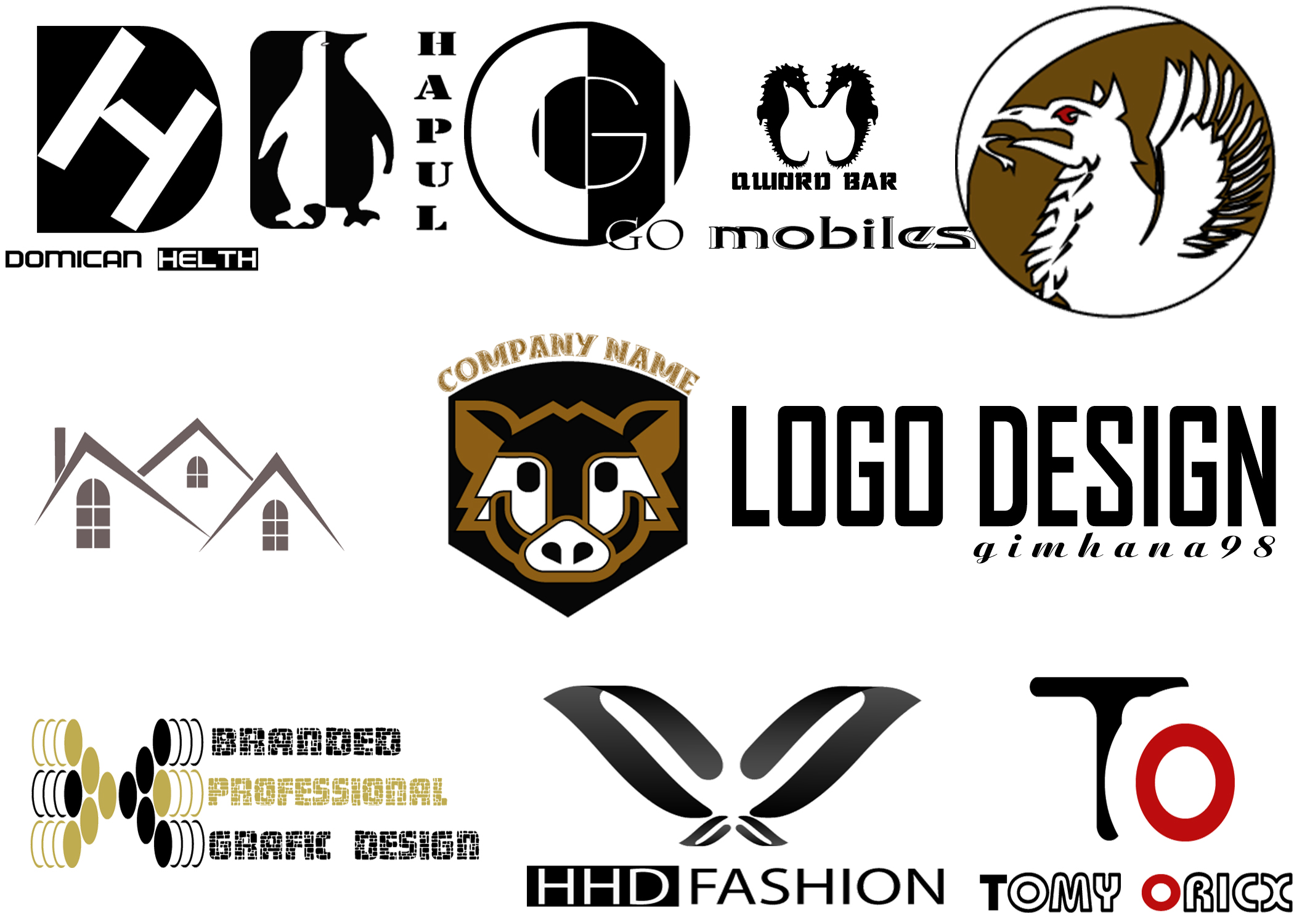 I will desin creative, unique logo in 24 hours