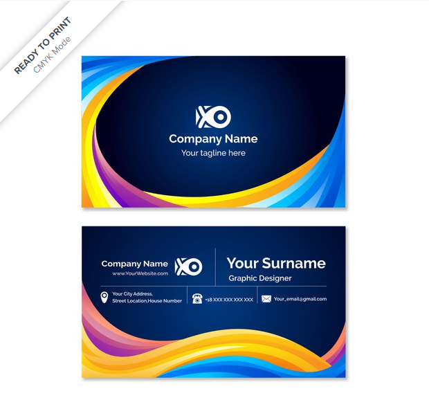I will design a professional business cards