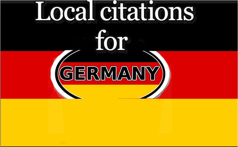 I will create 60 germany local citations