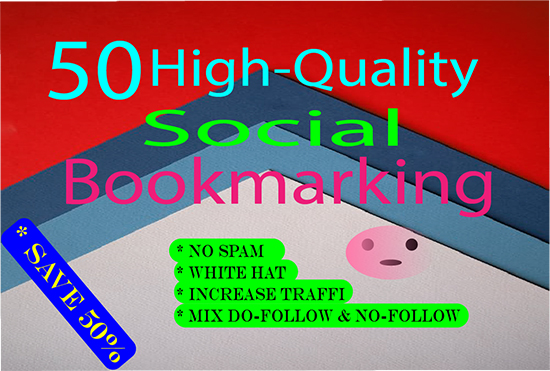 I Will Create 50 Social BookMarking With High DA & PA SitE