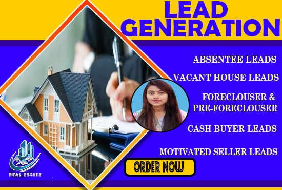 provide real estate lead generation and skip tracing