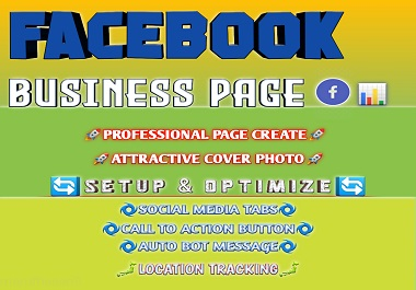 Professional facebook page create and optimize