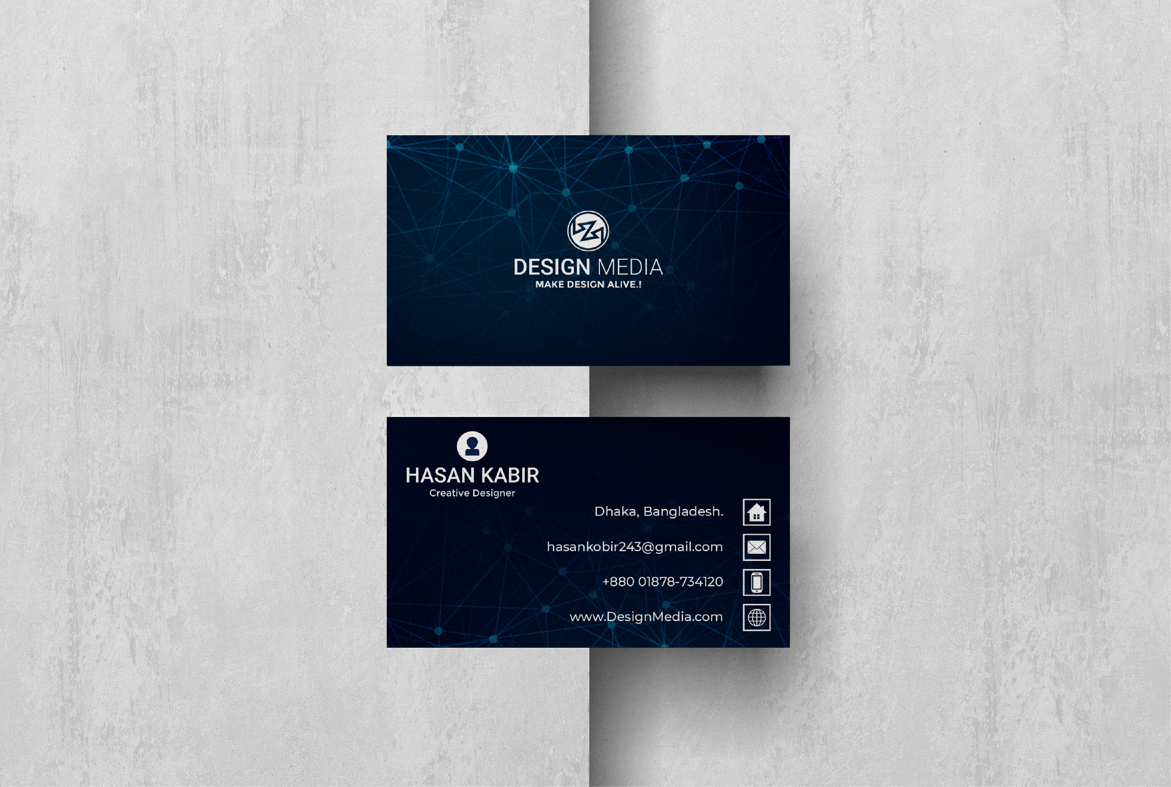 I Will Design Professional Business Card in 24 Hours