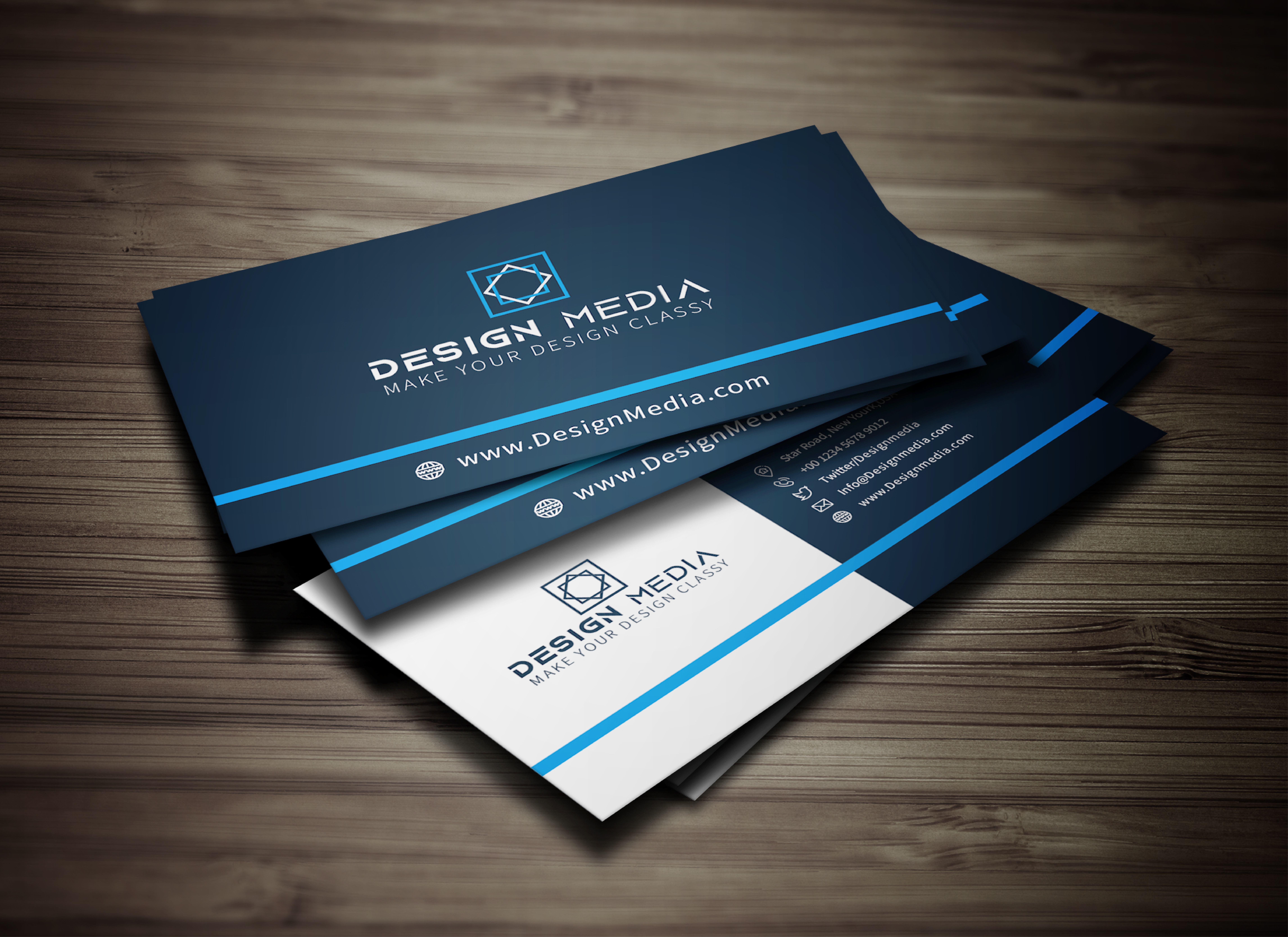 I will Create Corporate Business Card