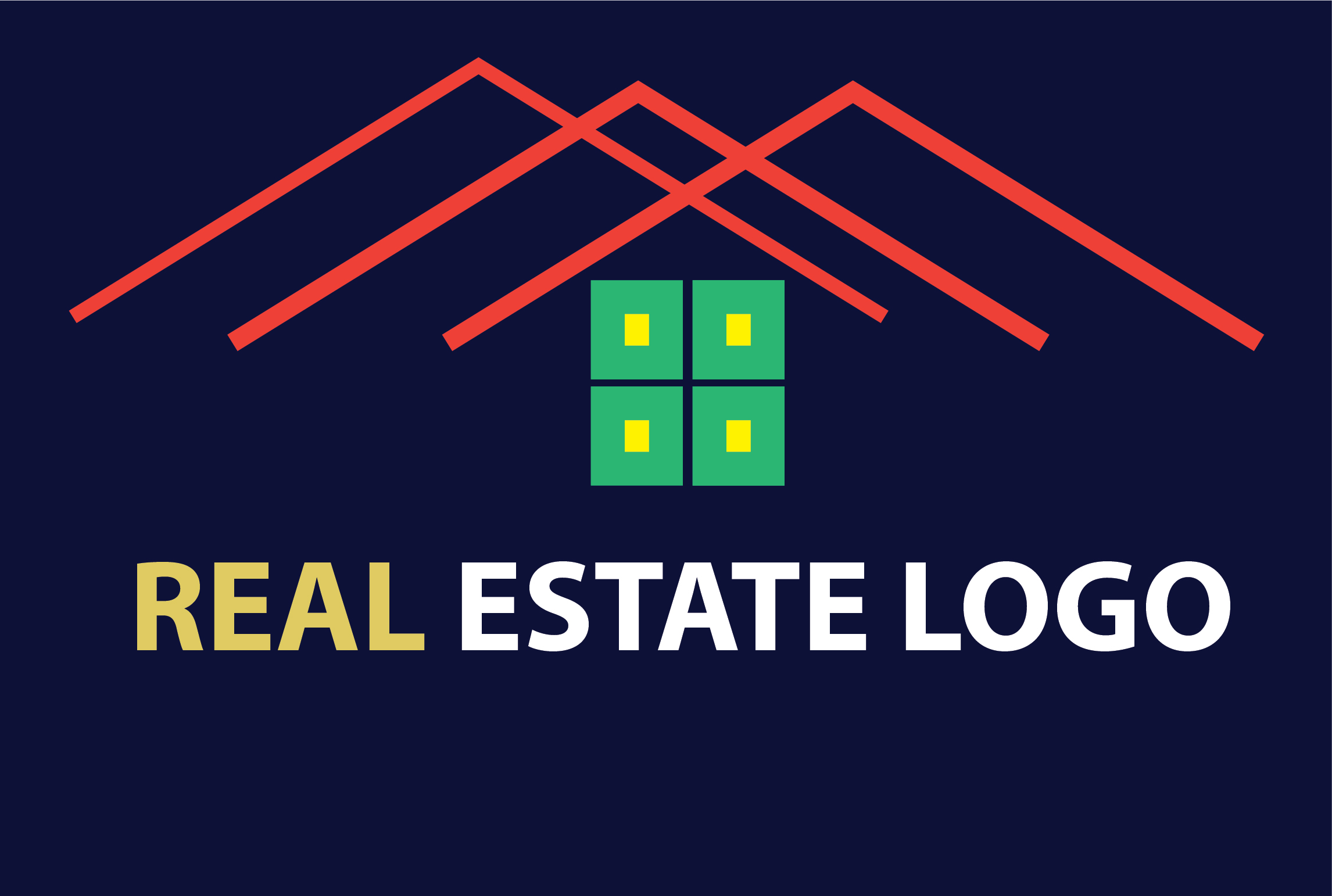 I will design professional real estate logo