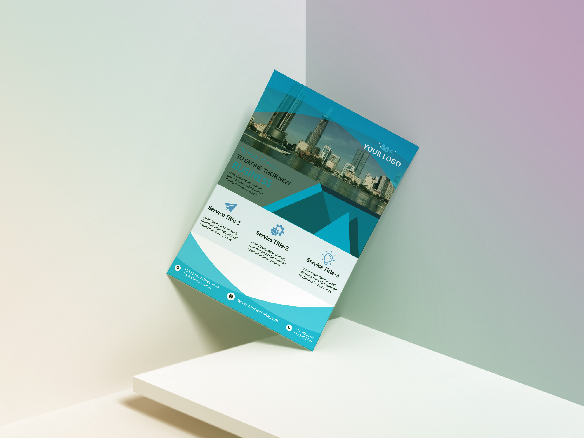 I will do Professional Business Flyer Template Design
