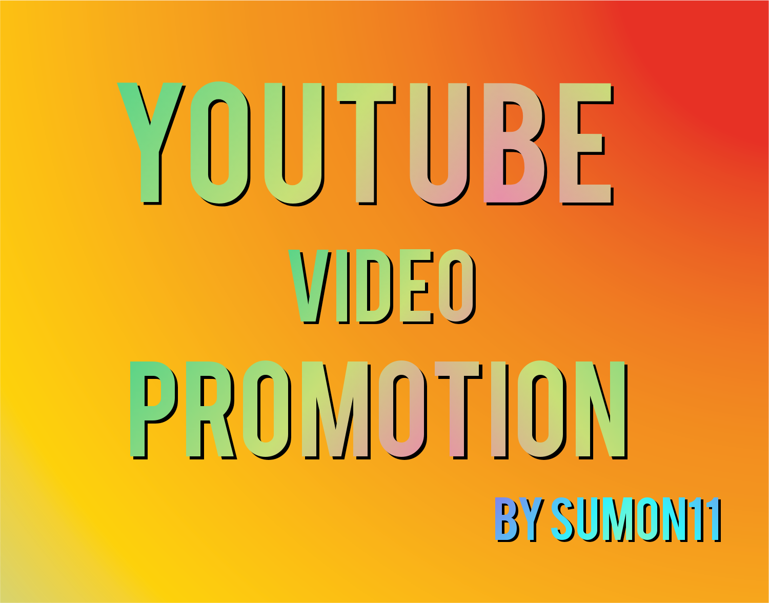I will do promote youtube video promotion social media marketing by Sumon11