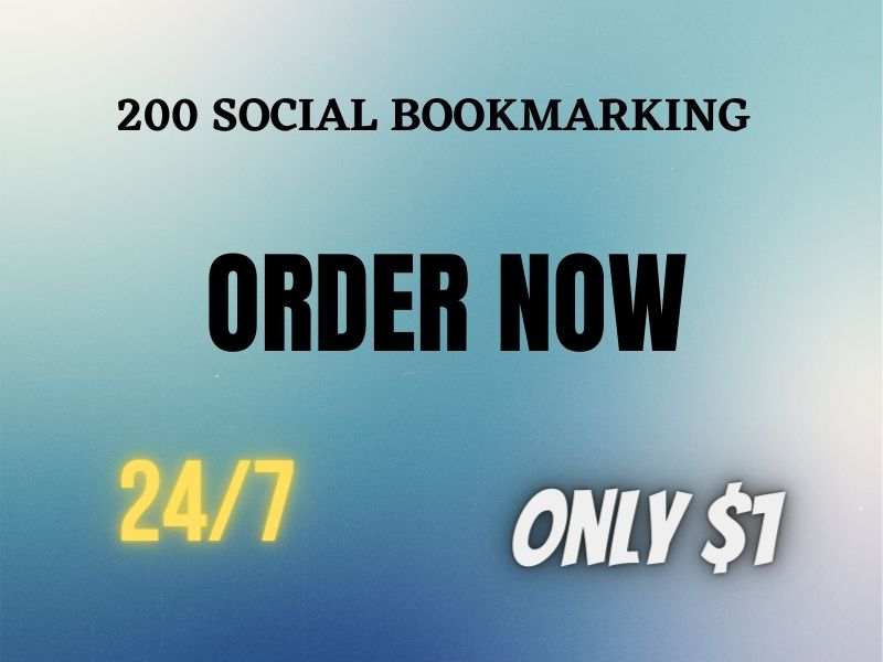 I Will Provide You High PR Bookmarking Website list