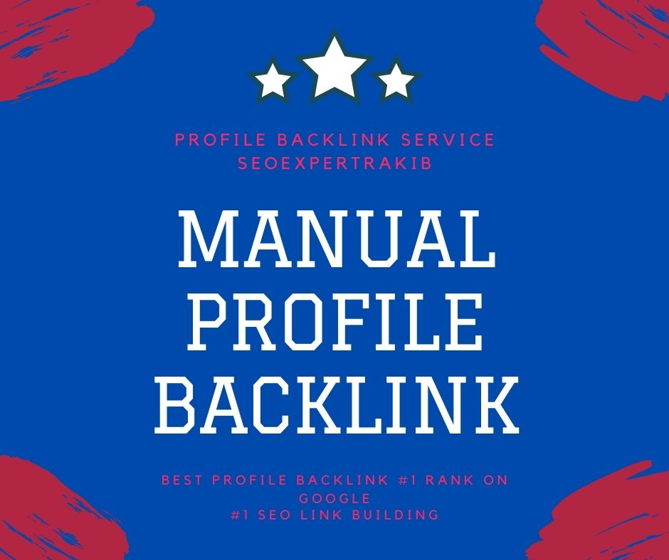 I will do high da and pa manual profile backlink boost your off page seo