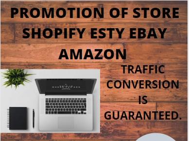 I will do viral shopify promotion,  ecommerce marketing,  shopify marketing,  web traffic