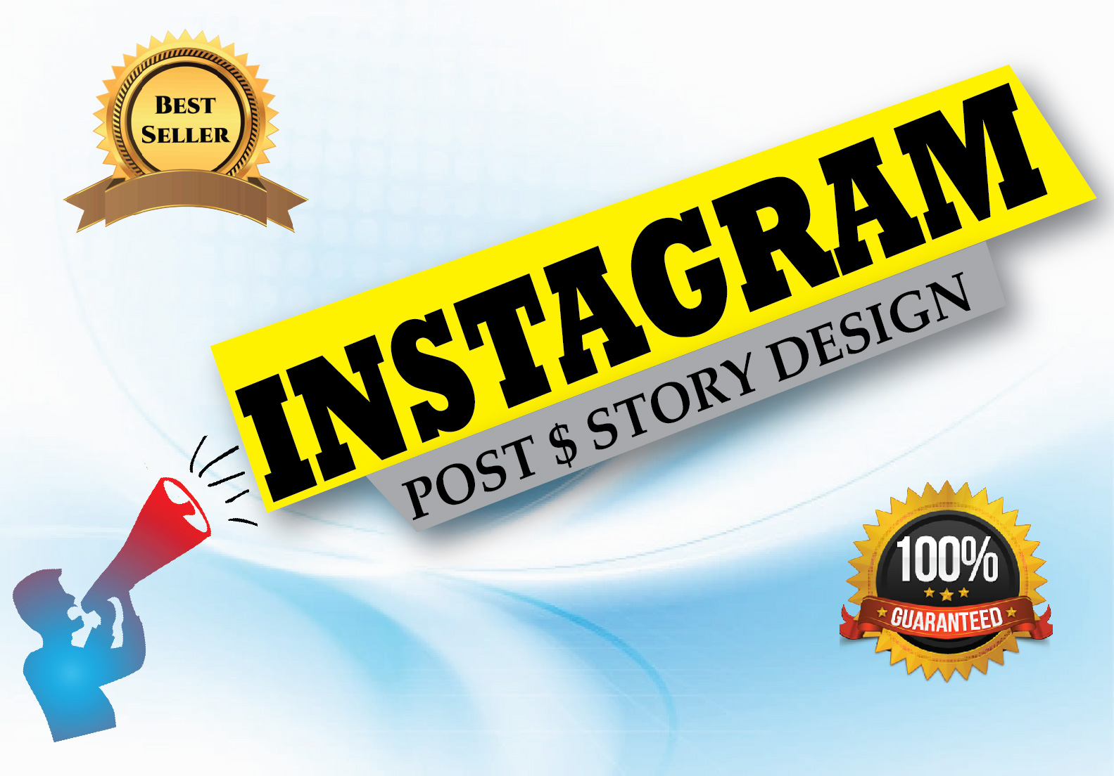 I Will Design Instagram Post & Story For Your Brand