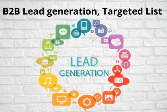 I will do b2b lead generation and collect targeted leads