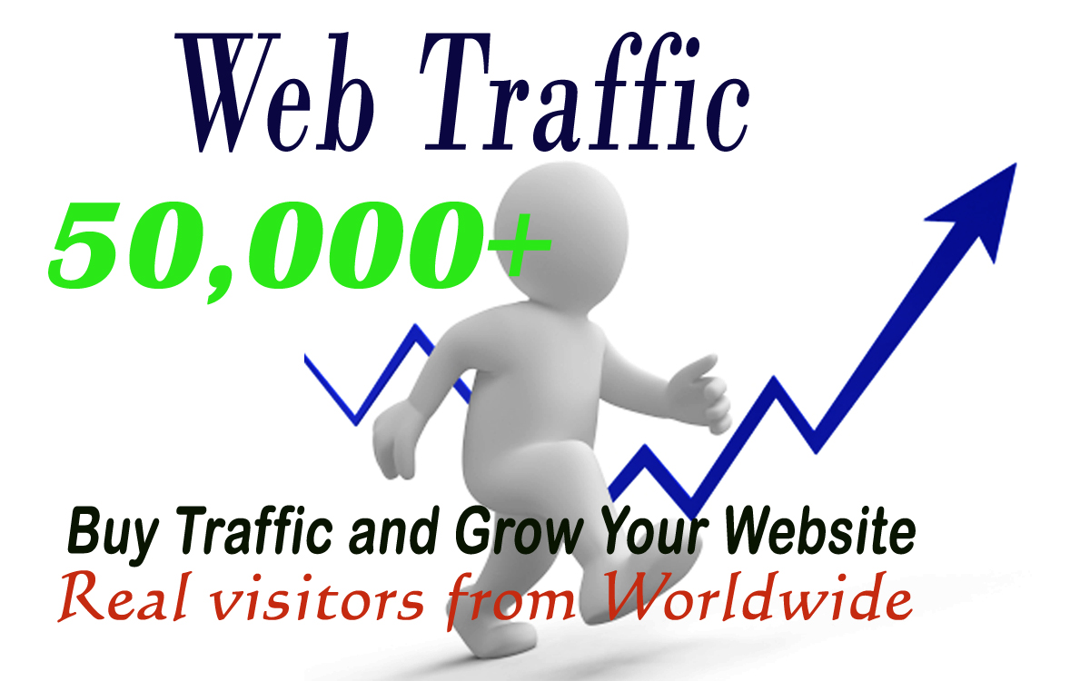 I will send you 50000+ KEYWORD targeted web traffic