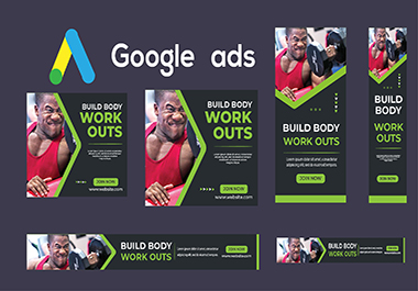 creative banner design ads for google Adwords