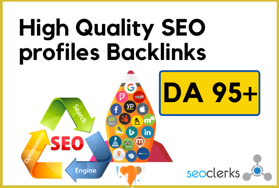 I will create whitehat High Quality SEO 30+ DA 95+ Dofollow Backlinks