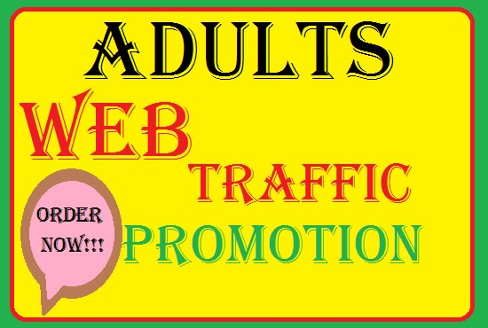 I will 2500 organic adult web traffic,  dating site promotion,  adult promotion