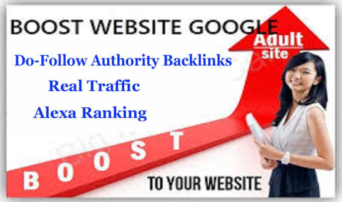 I will do 150 dofollow adultity backlinks through the blog post