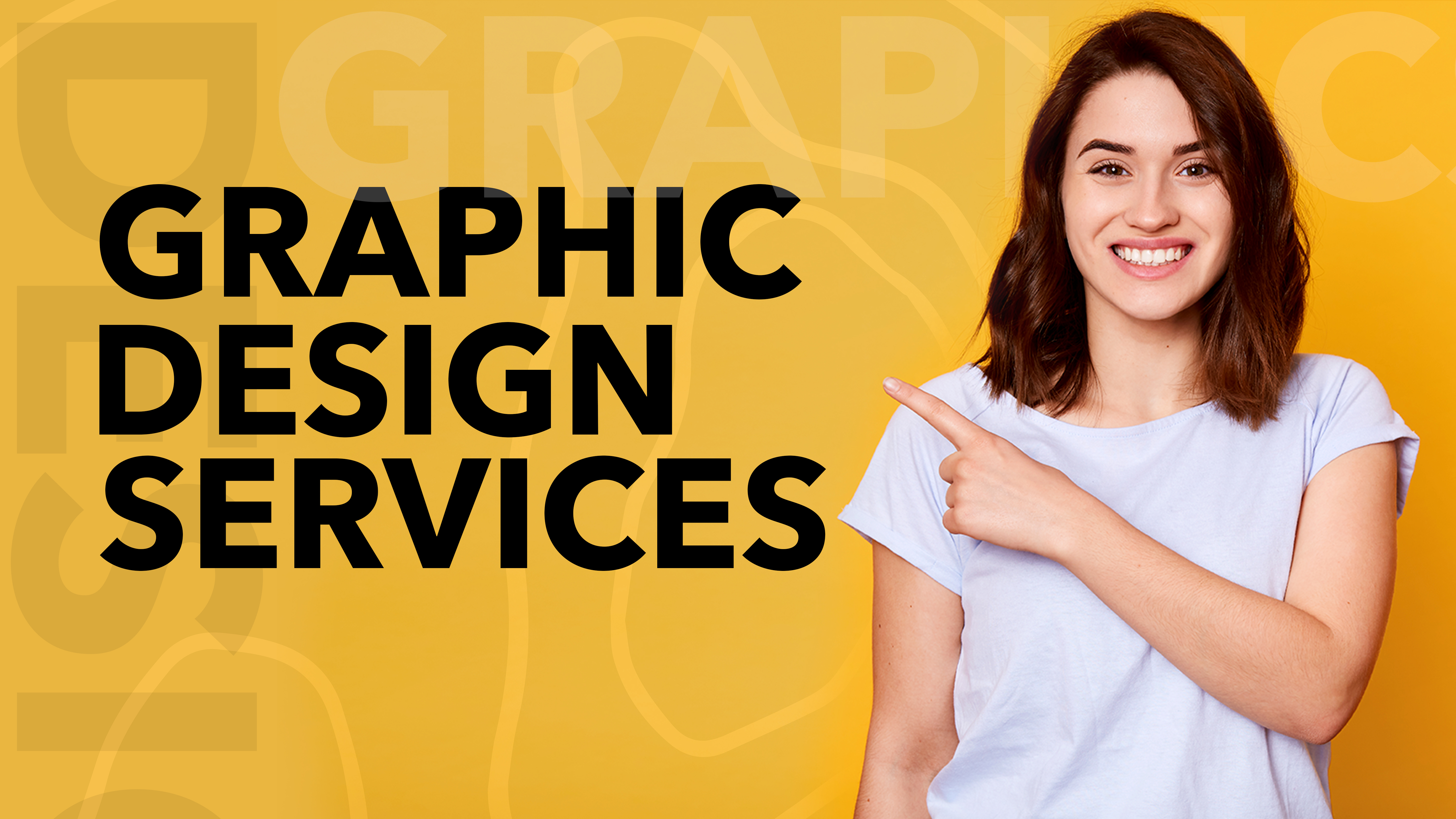 I will do any kind of graphic design services