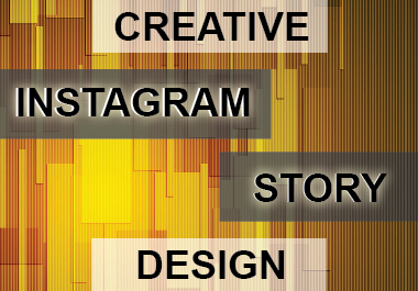 I will create instagram story design for you