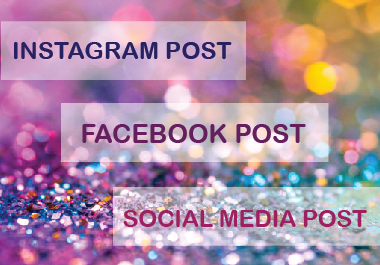 I will create 10 professional Facebook Post or Instagram Post or Social Media Post for you.
