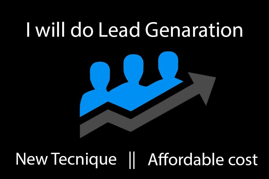 I will do Lead Generation, Web research from Google map
