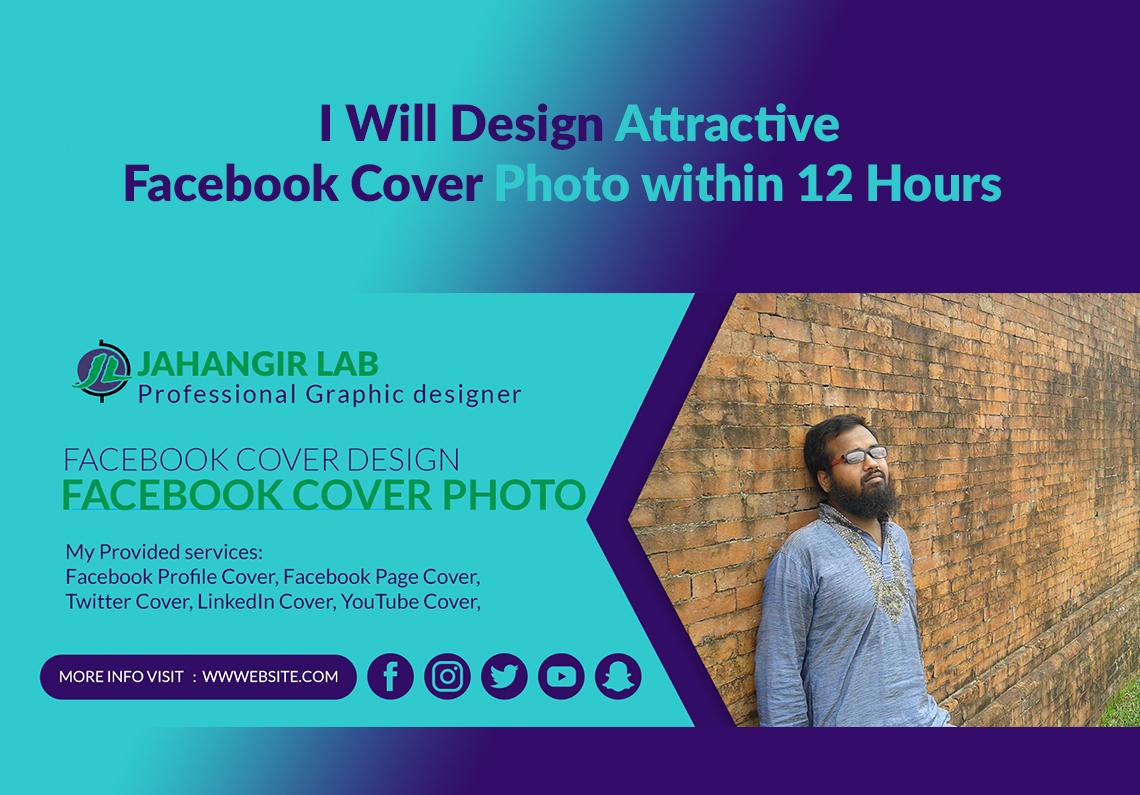 I Will Design Attractive Facebook Cover Photo
