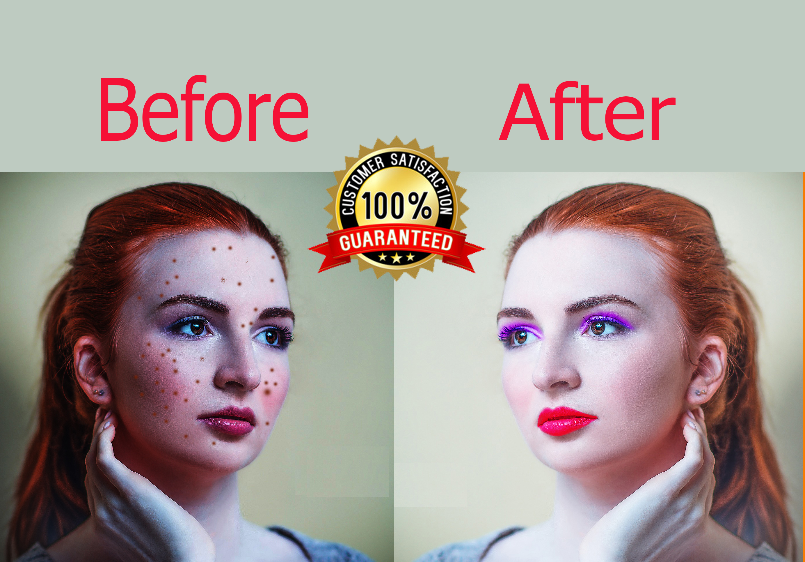 I will do professional photo retoucher,  object,  spot and background remover.