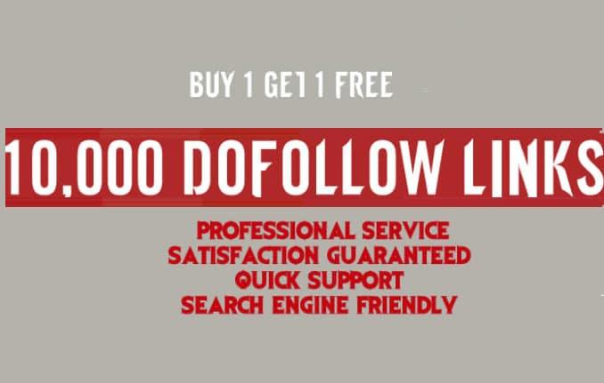 create 10,000 dofollow seo backlinks