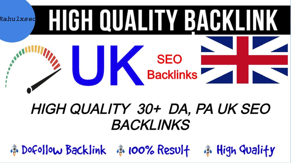 2021 latest create 30+ permanent UK backlinks with high da sites