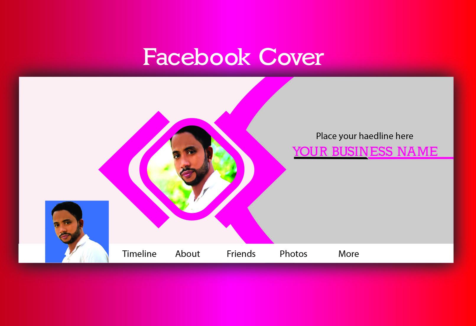 I will design professional Facebook cover