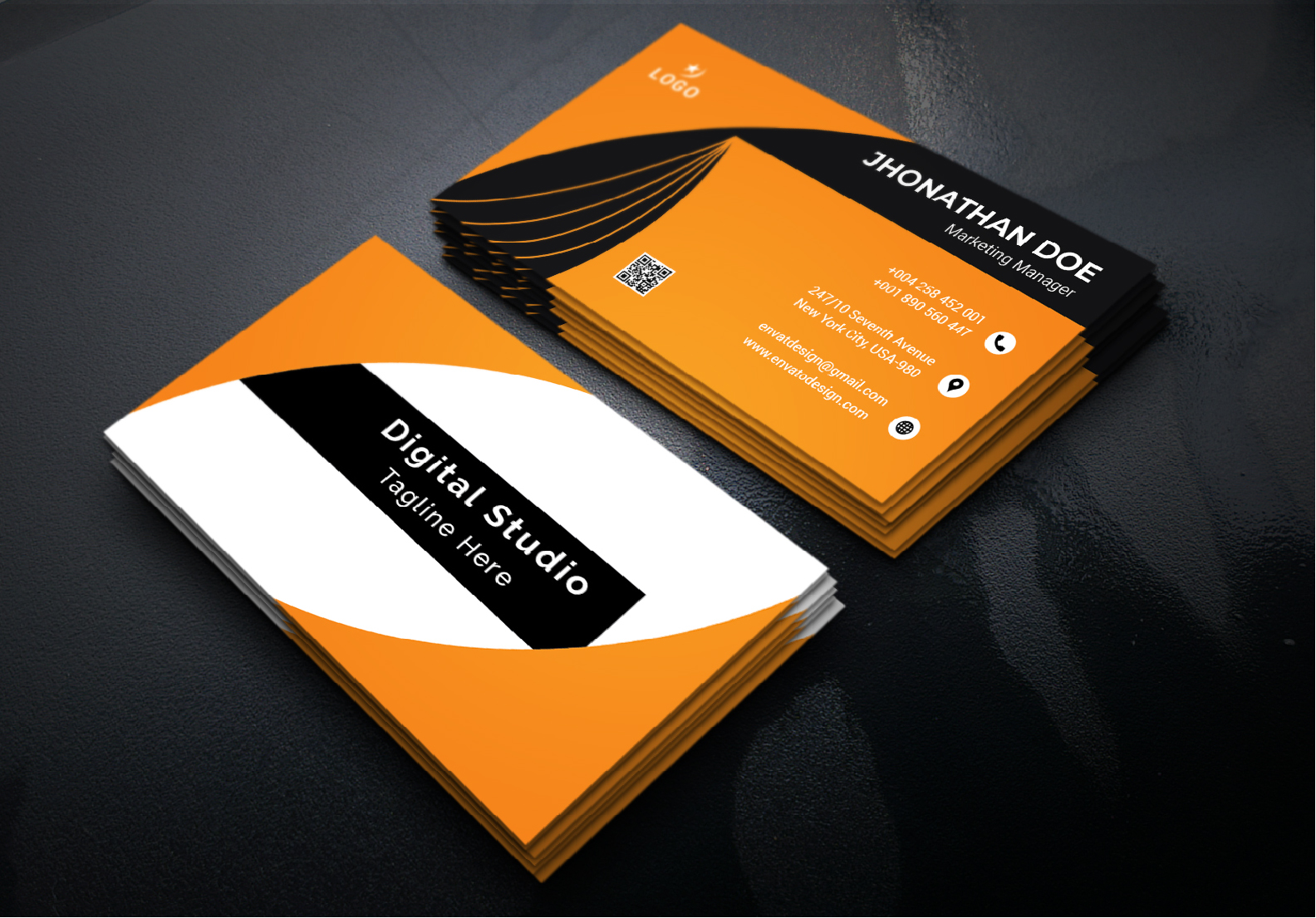 I will do amazing your Business Card