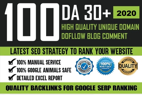 I will do 100 blog comment with manual method