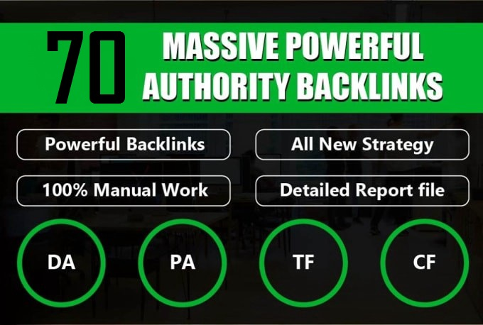 I will 70 massive powerful high authority blog comments backlink