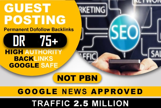 I will publish guest post on my google news approved site