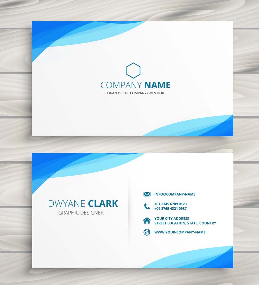 Unique,  Modern,  minimalist and premium looking business cards within 24 hours