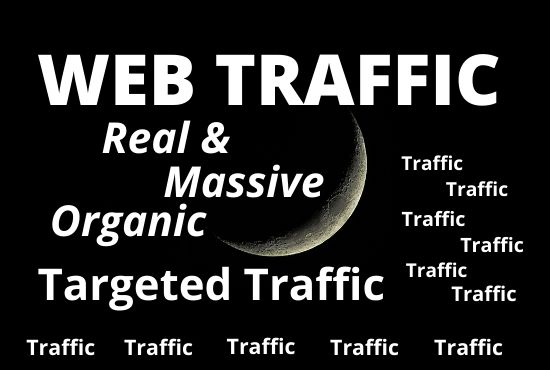 I will send 500k organic web traffic, adult to your site and store