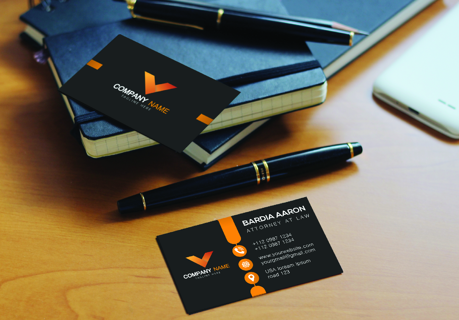 I will do professional business logo and minimalist business card design