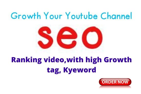 youtube video promotion SEO chaannel rank video