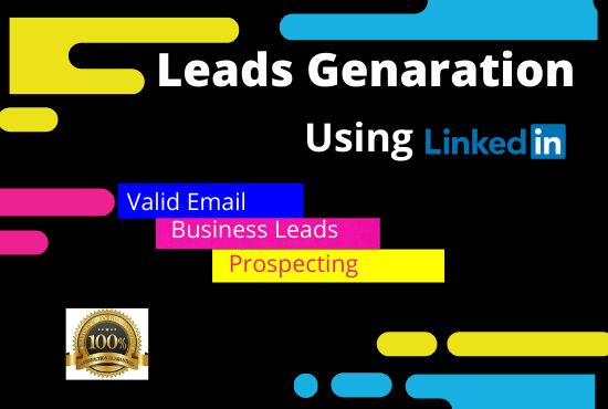 I will do leads generation from linkedIn