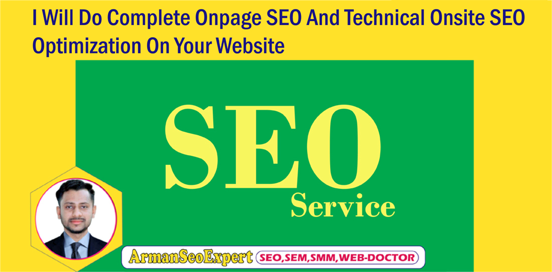 I Will Do Complete Onpage SEO And Technical Onsite SEO Optimization On Your Website