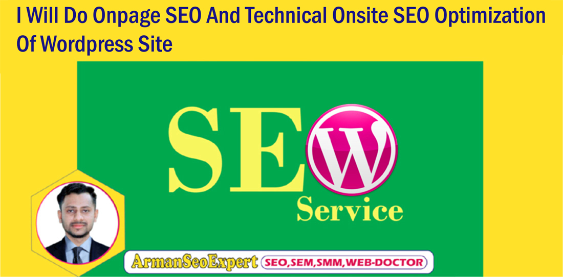 I Will Do Onpage SEO And Technical Onsite SEO Optimization Of Wordpress Site