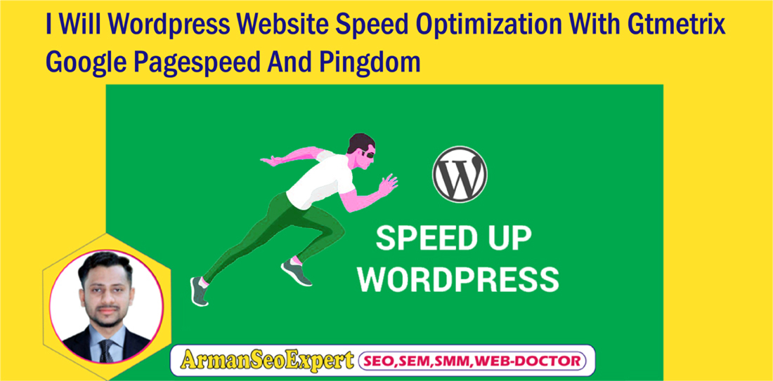 I Will Wordpress Website Speed Optimization With Gtmetrix,  Google Pagespeed And Pingdom