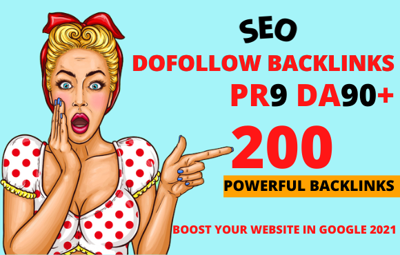 I Will Create 200 Dofolllow Backlinks